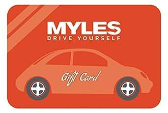 Myles Self-drive Gift Card-Rs.1000