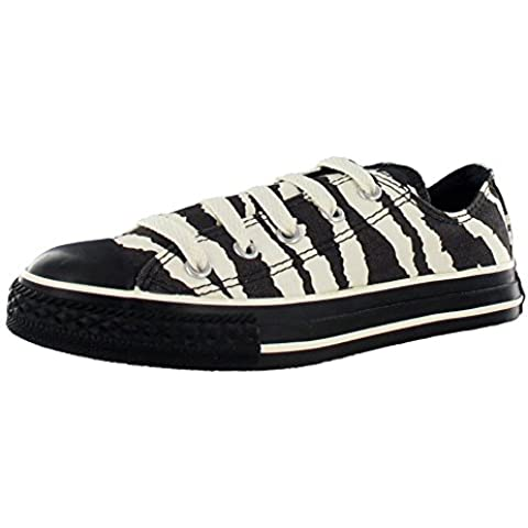 Converse All Star Chuck Taylor Animal Print Zebra Ox Boys