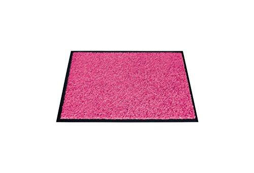 miltex 22010-3 Eazycare Schmutzfangmatte, Polyamid und Vinylrücken, rosa, 60.0 x 40.0 cm