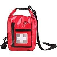 Yuan Ou Kit Primeros Auxilios Gran Impermeable Botiquín De Primeros Auxilios Caja De Kits Portátiles Sólo para El Tratamiento Médico De Emergencia De Viaje 5L Rojo