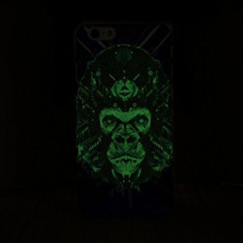 iPhone 5S Fall, Fashion Tier-Muster Design mit Kunstlicht Kunststoff HardCase Schutzhülle FÜR iPhone 5s (1), 8, IPhone 6S Plus 4