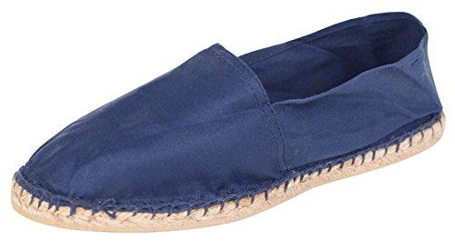 Sommerlatschen Espadrilles, klassisch, dunkelblau, Unisex, SL1094, Größe 44