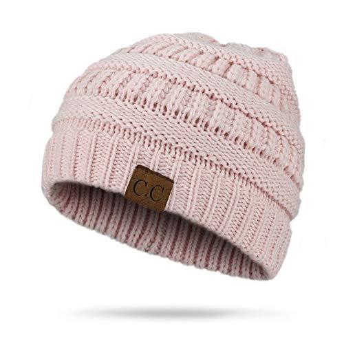 HAOLIEQUAN Moda De Cola De Caballo De Invierno Sombrero De Mujer De  Ganchillo De Punto Hat Cap Señoras Gorros De Invierno Gorras e4b9bfedd51