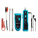 Cable Tester,Wire Tracker RJ45 RJ11 Network Telephone LAN Line Finder Cat5 Cat6