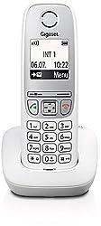 Gigaset A415 Schnurloses Telefon ohne Anrufbeantworter (DECT Telefon mit Freisprechfunktion, Grafik Display und leichter Bedienung) weiß