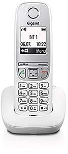 Gigaset A415 Telefon - Schnurlostelefon / Mobilteil mit Grafik Display - Dect-Telefon mit Freisprechfunktion - Analog Telefon - Weiss