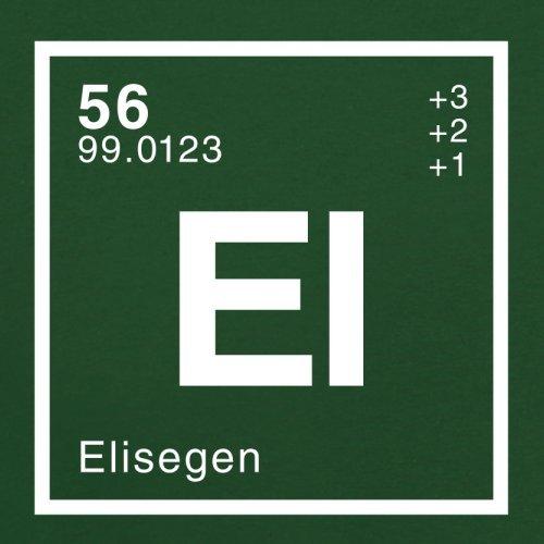 Elise Periodensystem - Herren T-Shirt - 13 Farben Flaschengrün