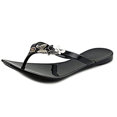 Guess Camilly Femmes US 6 Noir Tongs
