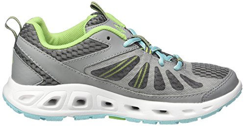 Columbia Vent Master, Chaussures Multisport Outdoor Femme Gris (Monument, Ocean Water 036)