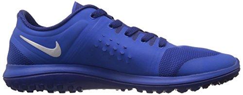 Nike Fs Lite Run, Chaussures de running homme Multicolore (Cblt/Mtllc Slvr/Ryl Bl)