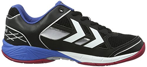 HummelOMNICOURT Z4 TROPHY - Scarpe Sportive Indoor Unisex – Adulto Nero (Black)