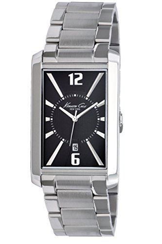 Kenneth Cole New York Men's KC3952 Analog Grey Dial Watch (Certified Refurbished)