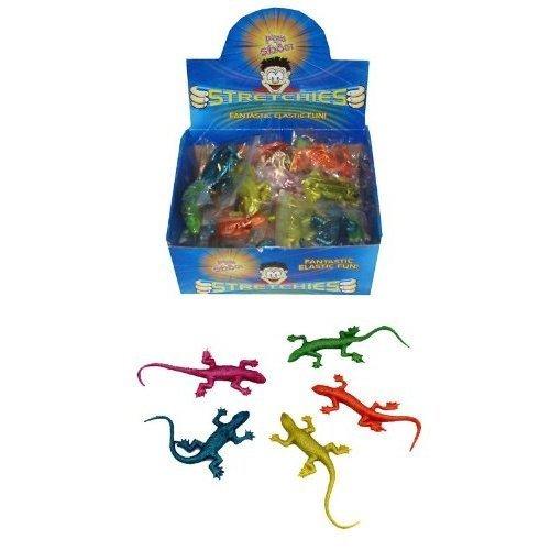 Packung mit 12 Stück - dehnbar Eidechsen (Pack of 12 - Stretchy Lizards)