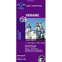 Carte routière : Ukraine (recto verso)