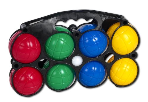 The Toy Company 16601 Outdoor active Boccia mit 8 Bällen, - Outdoor-spiele Kinder
