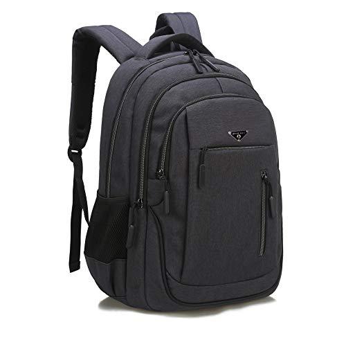 GUAHOME Anti-diebstahl Laptop Rucksack mit USB Ladeanschluss Wasserdicht Business Taschen Rucksäcke für Herren Damen Arbeit Reisen Schule bis zu 15,6 Zoll Notebook/Computer Dunkelgrau