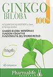 Pharmalife Ginkgo Biloba 100%, 60 Compresse
