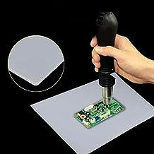 Pad in Silicone con Isolamento Termico, 1pc Heat Gun Stazione di Saldatura Resistente al Calore Pad di Manutenzione scrivania Tappetino in Silicone 13.78 x 9.05 \