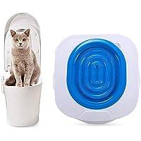 PETS EMPIRE Professional Pet Cat Toilet Training Seat Tray Kit