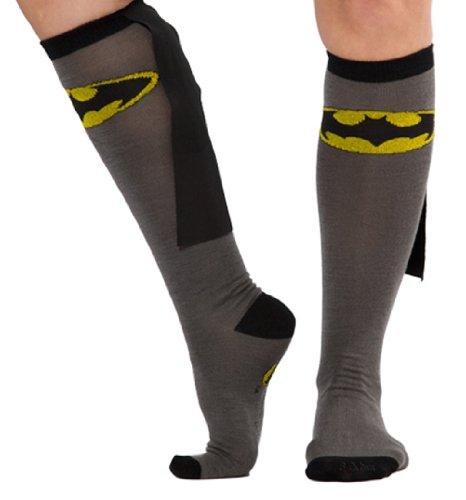 DC Comics Batman Kniestrmpfe mit Umhang