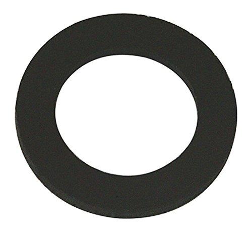 fixman-961227-pack-de-120-arandelas-goma-de-caucho-color-negro