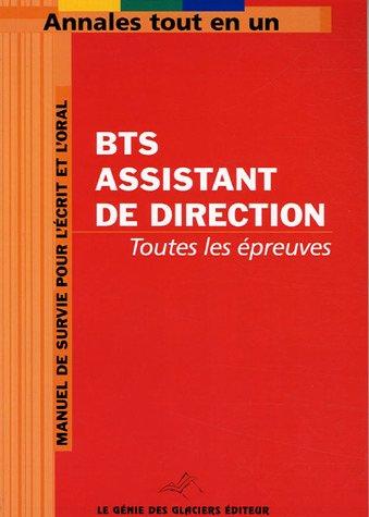 BTS Assistant de Direction par Anonyme