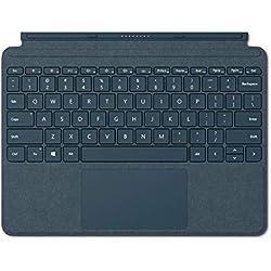 1 de Microsoft Signature Type Cover para Surface Go, Azul Cobalto, QWERTY español