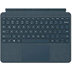 1 de Microsoft Signature Type Cover - Funda con teclado para Surface Go, Azul - Teclado QWERTY Español