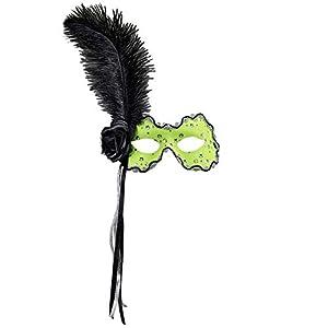 WIDMANN Genérico-Lobo amarillo con pluma negra mujer