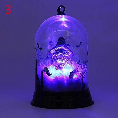JoyFan Halloween Kürbis Hexe Licht Lampe Hängelampe für Halloween Dekoration Kerze Licht Candle Light