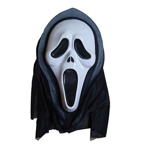 Mask- Halloween Adult Maske Team Chainsaw Cry Party Spiel Maske Clown Skull (Farbe : A)
