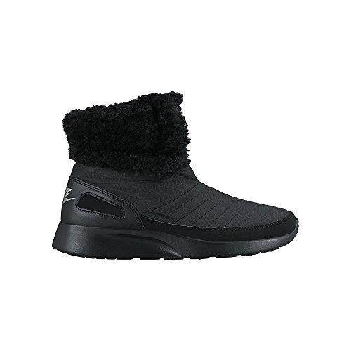 Nike Damen Wmns Kaishi Wntr High Schutzstiefel, Black (Schwarz/Metallic Silver), 40.5 EU