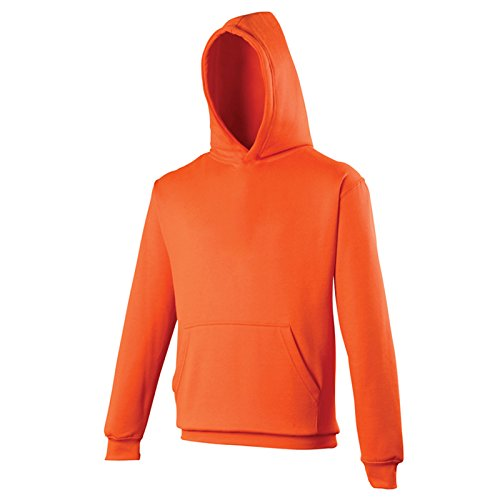 AWDis - Sweat à capuche - Moderne - Femme Orange électrique
