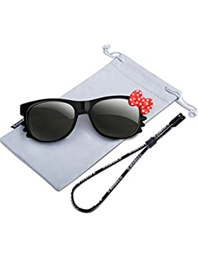 RIVBOS RBK102 Divertidos diseños Gafas de Sol 100% Protección UV400 Deporte Polarizadas Marco Flexible Infantiles...
