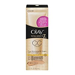 Olay Total Effects 7 in One Pore Minimizing CC Cream with Sunscreen Light to Medium, 1.7 FL OZ