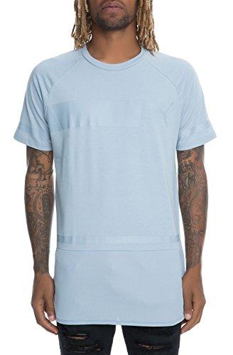 Für Männer Kd-shirts (Puma Recharge T-Shirt (S, Blue Fog))