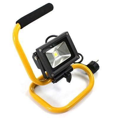 BAUSTRAHLER ARBEITSLEUCHTE FLUTLICHTSTRAHLER FLUTER STRAHLER lux.pro 10W SMD, LED
