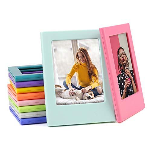 10 STÜCKE Verschiedene Farben Freie Kombination Magnetische Bilderrahmen Kompatibel mit Fujifilm Instax Mini 8 8+ 9 Sofortbildkameras