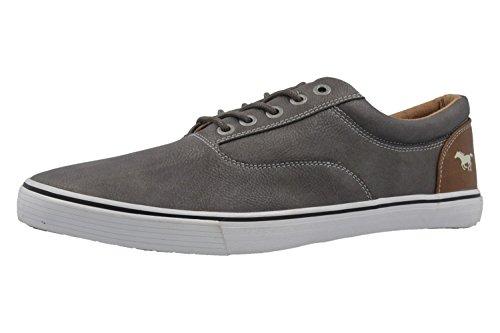 MUSTANG - Herren Halbschuhe - Grau Schuhe in Übergrößen, Größe:50