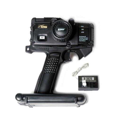2-Kanal RC Pistolen-Griff Fernsteuerung und Empfänger für Elektro RC Cars (Fernbedienung 27mhz)