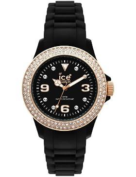 Ice-Watch Armbanduhr Stone-Sili Unisex Schwarz ST.BK.U.S.09