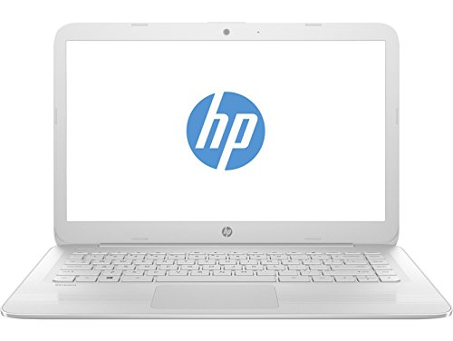 HP 14-ax003ns Stream  - Ordenador portátil español de 14' HD (Intel Celeron N3060, 4 GB RAM, 32 GB eMMC, Intel HD Graphics 400, Windows 10 + Microsoft Office 365) blanco nieve - Teclado QWERTY Español