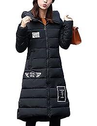 LaoZan Mujer Outerwear Espesar Abrigo Largo Abrigo de Abrigo de Invierno  Chaqueta con Capucha XX- 111ba547fa08