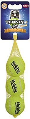Nobby Tennis Ball with Squeaker, Small, 5 cm by Nobby