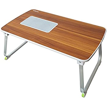 Portronics POR 833 U201cMyBuddy Lu201d A Light Weight Strong And Foldable Laptop  Cooling Table Cum Standing Office Desk, Itu0027s A Portable Laptop Cooling Desk  Extra ...