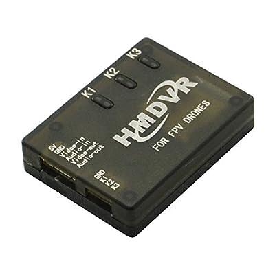 Goliton® HMDVR Mini DVR Recorder Video Audio Recorder for FPV Drones QAV Multicopters