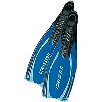 Cressi Reaction - Aletas de buceo de surf y natación, tamaño 36/37, color azul