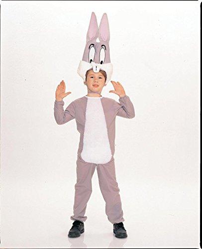 Kostüm Kind Bugs Bunny (Warner Bros Bugs Bunny Kostüm für Kinder,)