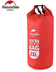 Naturehike Voyager Derive Bag Drifting Bag – Bolsa de natación bolsa impermeable bolsa, color rojo, tamaño 25 L, volumen liters 25