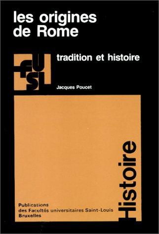 Les origines de Rome par Jacques Poucet